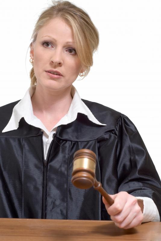Individuals involved in a civil case can agree to have their case heard only by a judge, with no jury present.