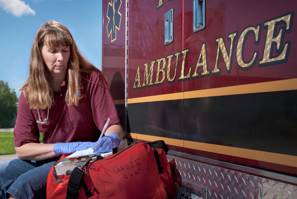 Non-latex gloves may be an expensive item to stock in ambulances.
