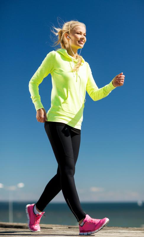 Moisture wicking leggings and tops keep moisture away from the skin for comfort purposes.