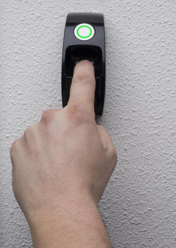 Fingerprint reading devices can be used to unlock doors.