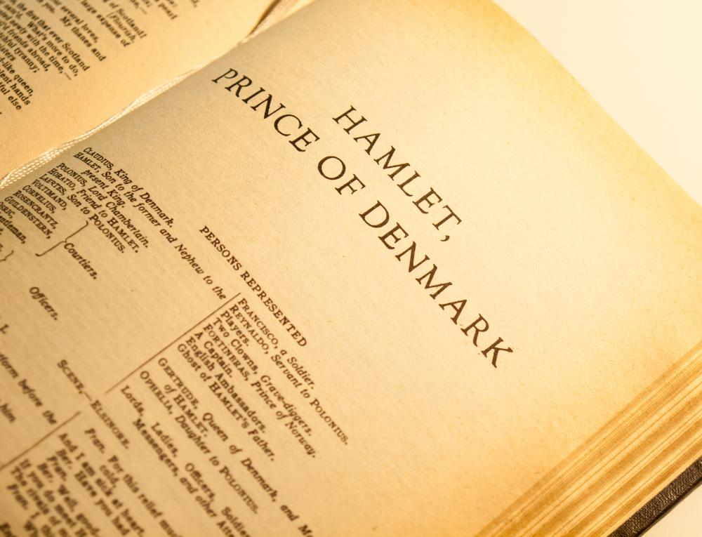 "A list of great Western literary works almost certainly includes ""Hamlet""."