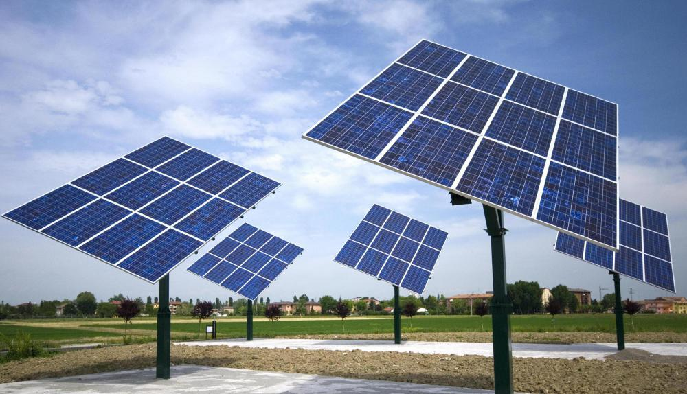 The solar energy industry involves generating power from the sun's energy.
