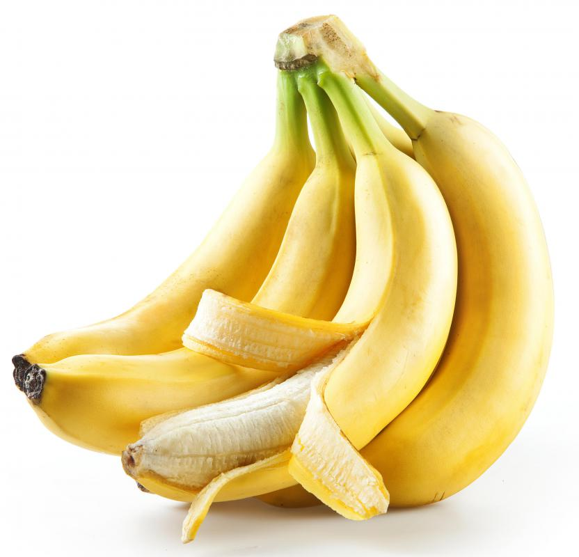 Phenylalanine is found naturally in bananas.