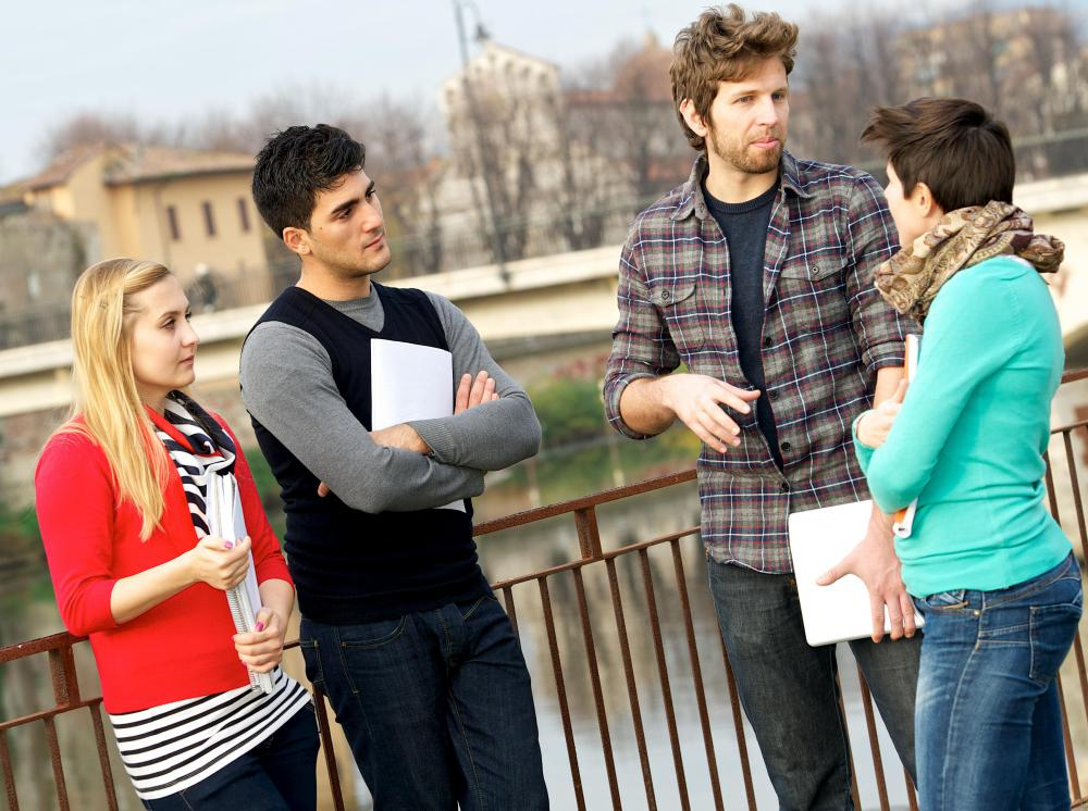 Anticipatory socialization often occurs in college students when they experience their first professional job.