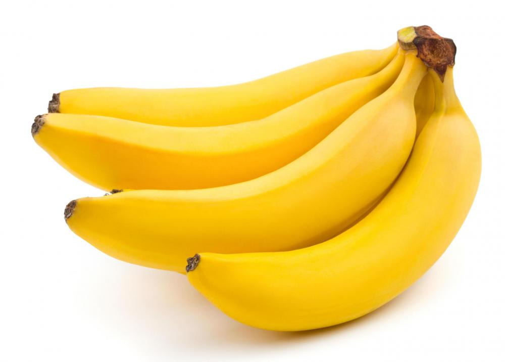 Bananas can help bulk up stool.