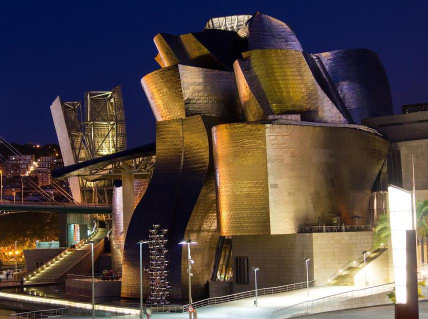 The contemporary designs of Frank Gehry eschew the straight lines of modernism.