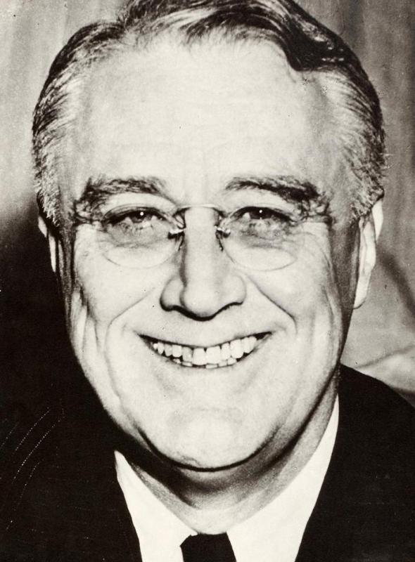 Franklin Delano Roosevelt died less than 100 days into his fourth term as president of the United States.