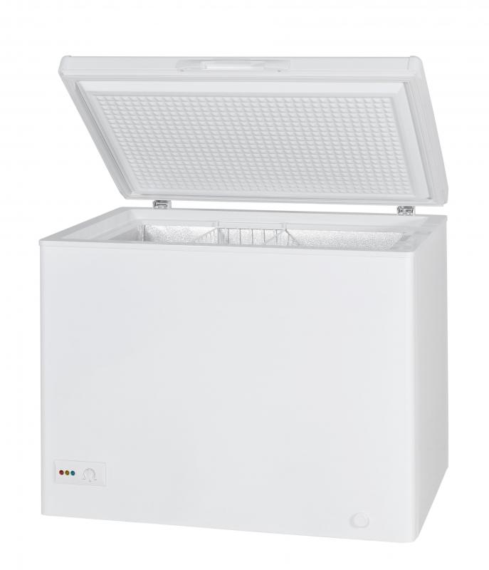 Chest freezers are more energy efficient than upright freezers.