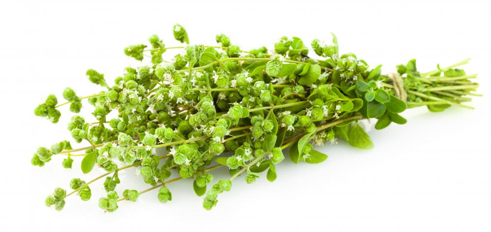 Oregano is naturally antibacterial.