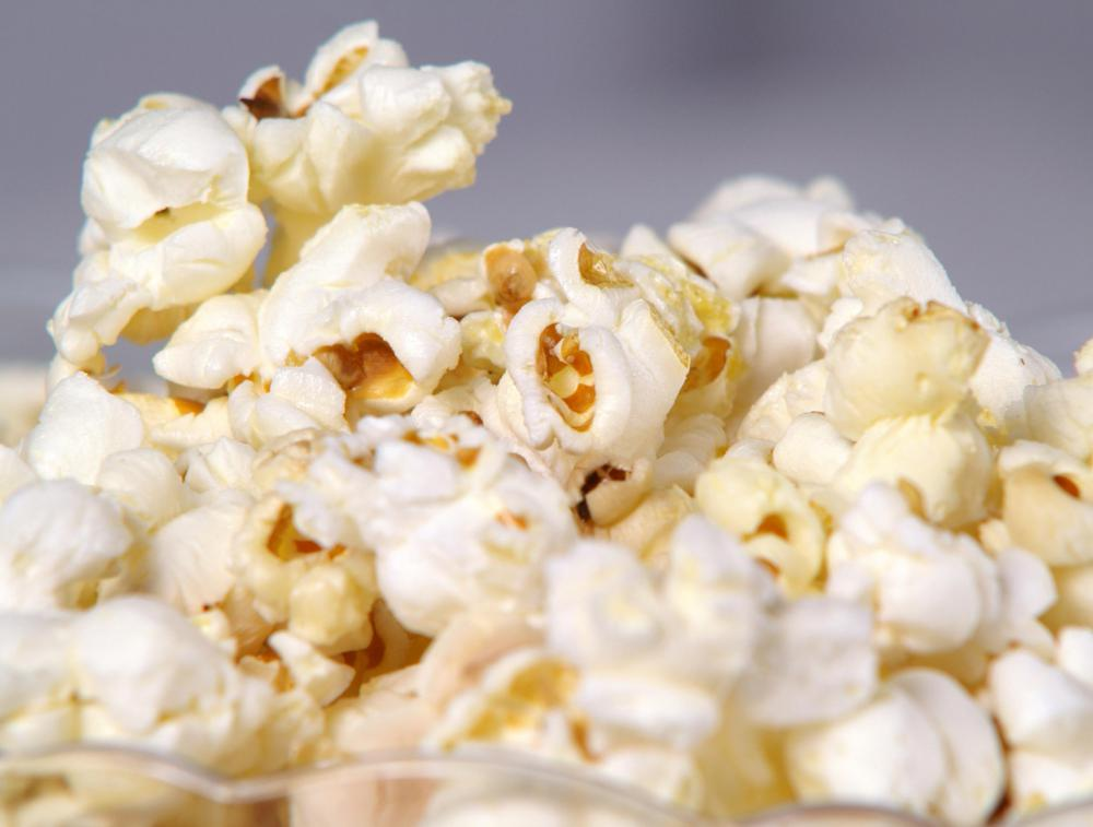 Popcorn with no added butter or salt can be a snack for a low-sodium diet.