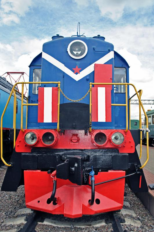 Diesel is used to fuel vehicles such as diesel-electric locomotives.