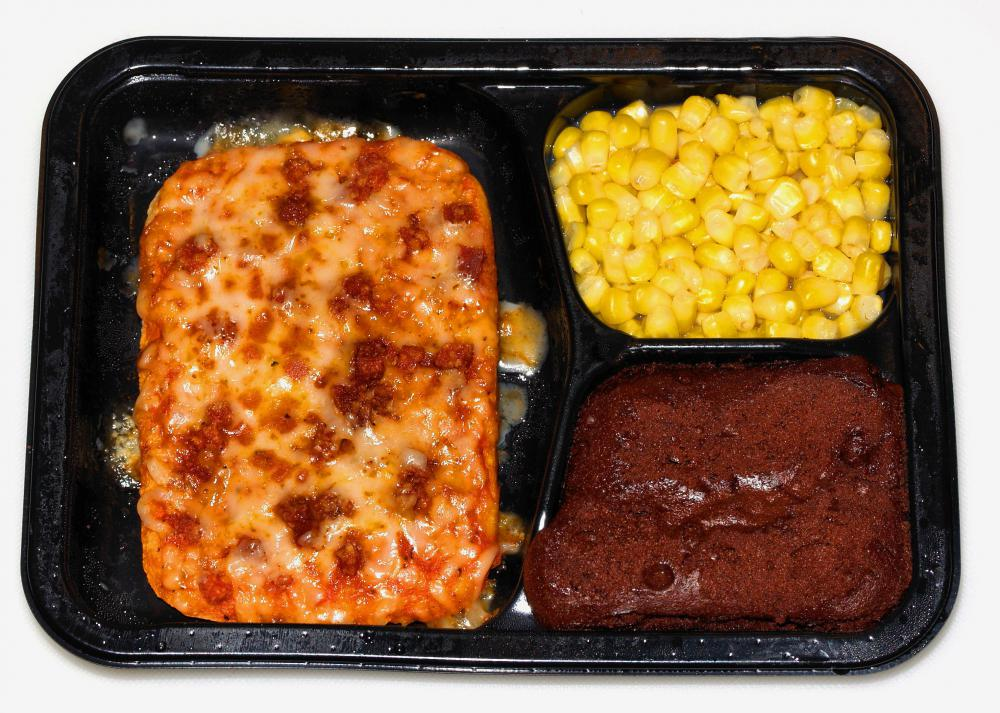 Frozen dinners are high in salt and should be avoided by those on a low sodium diet.