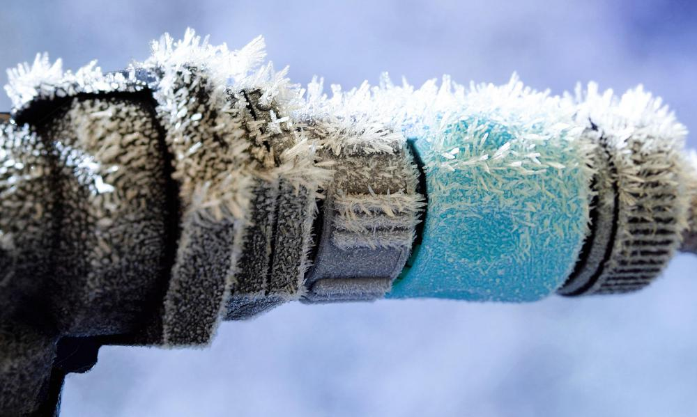 When water freezes, it expands, often leading to burst pipes.