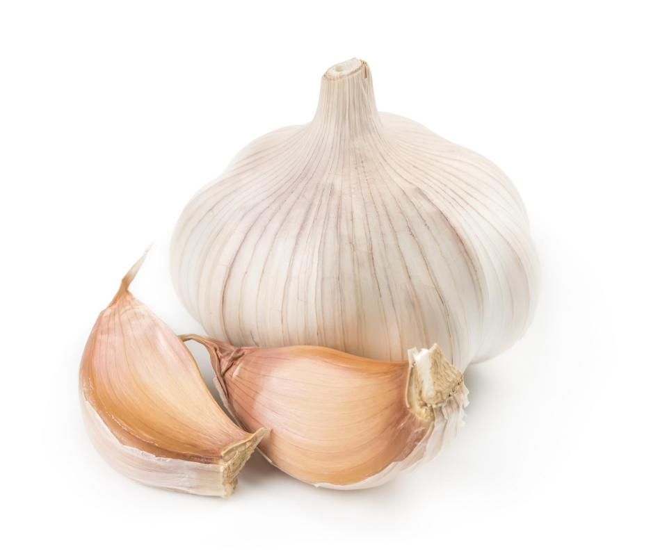 Chewing a clove of garlic first thing in the morning can help with a toothache.