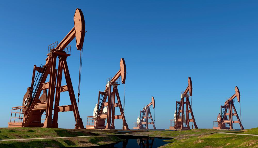 Oil and natural gas are both nonrenewable hydrocarbons that are extracted from beneath the Earth's surface.
