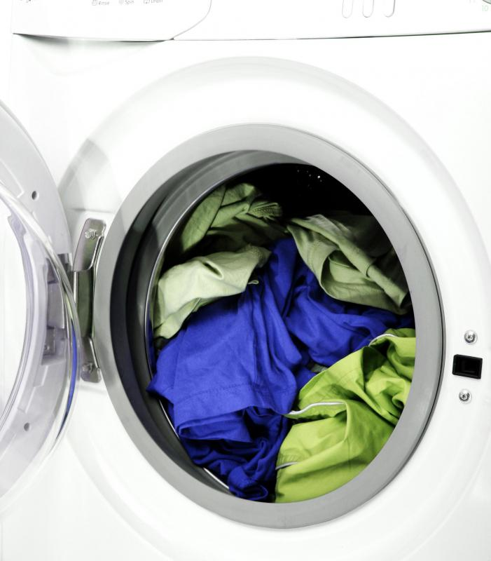 "A gentle wash cycle may be appropriate for clothing marked ""dry cleaning suggested""."