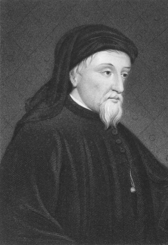 The first known text about Valentine's Day was written by British poet Geoffrey Chaucer.