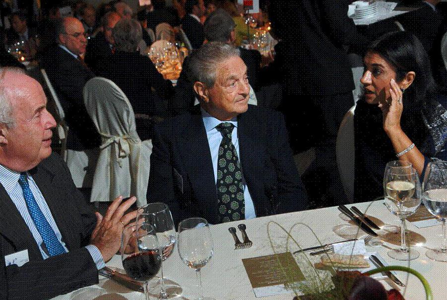 Extremely wealthy individuals, like George Soros, may be thought of as modern hegemons because they can make disproportionately large contributions to political causes and candidates.