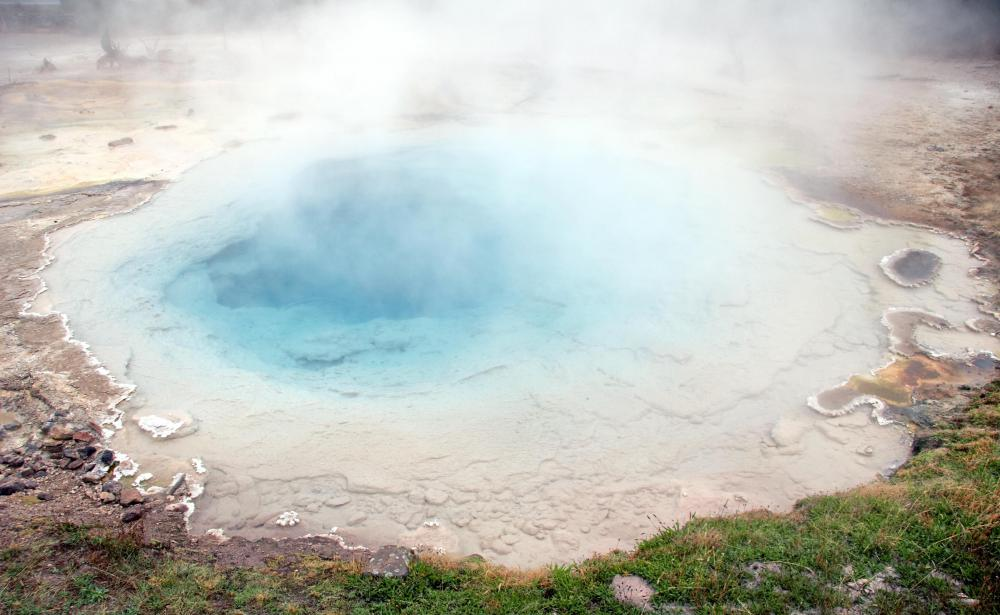 Geysers are a natural source of geothermal energy.