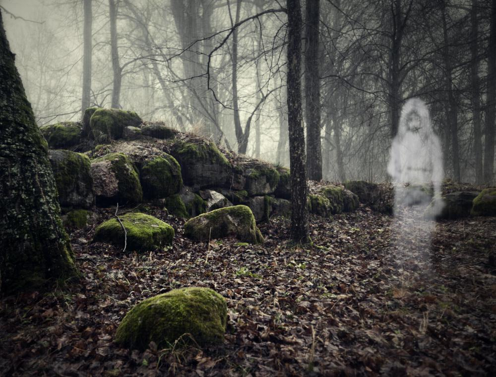 Paranormal movies usually include ghosts and spirits.
