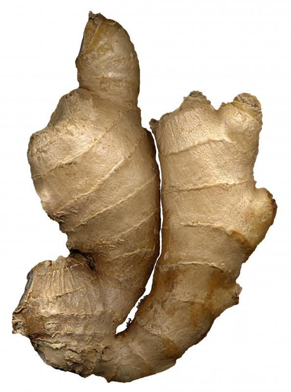 Ginger is a home remedy to relieve chest congestion.