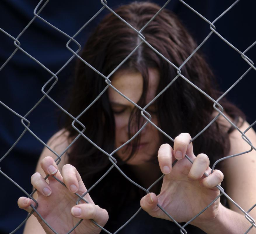 The majority of human trafficking victims are female.