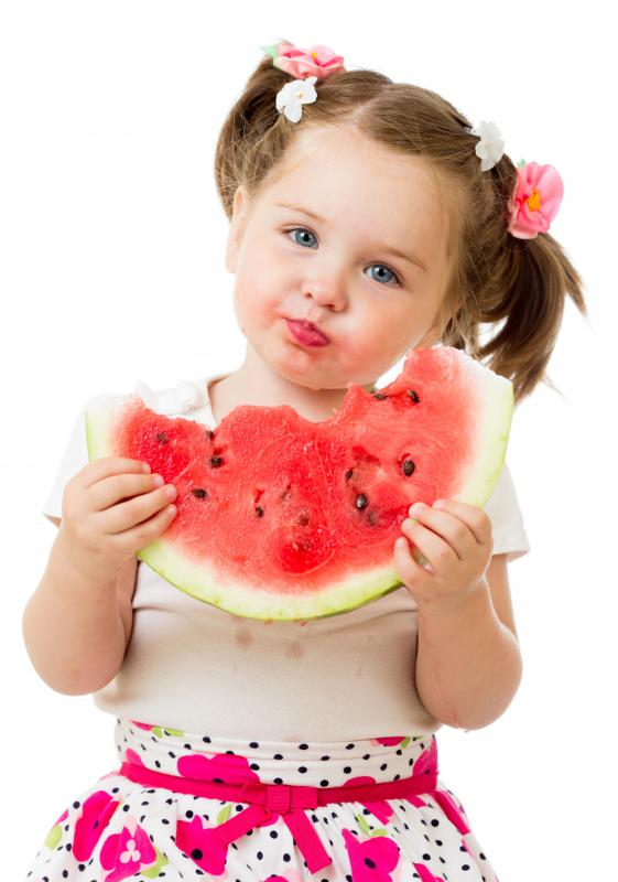 Watermelon is high in nutrients and low in calories.
