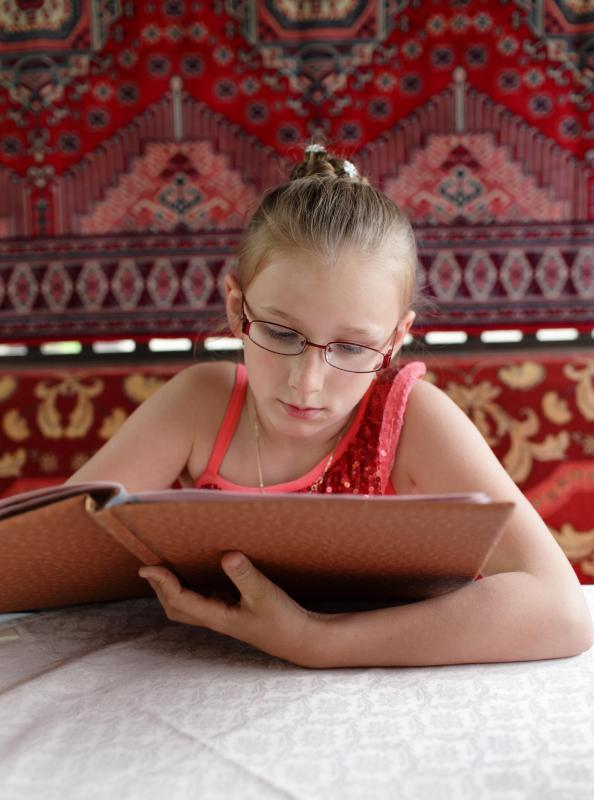 Children who have difficulties with auditory discrimination may also have trouble reading.