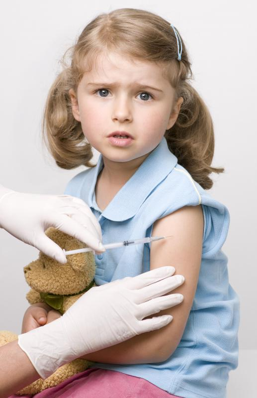 Many countries require a series of vaccinations of common diseases to be given to children.