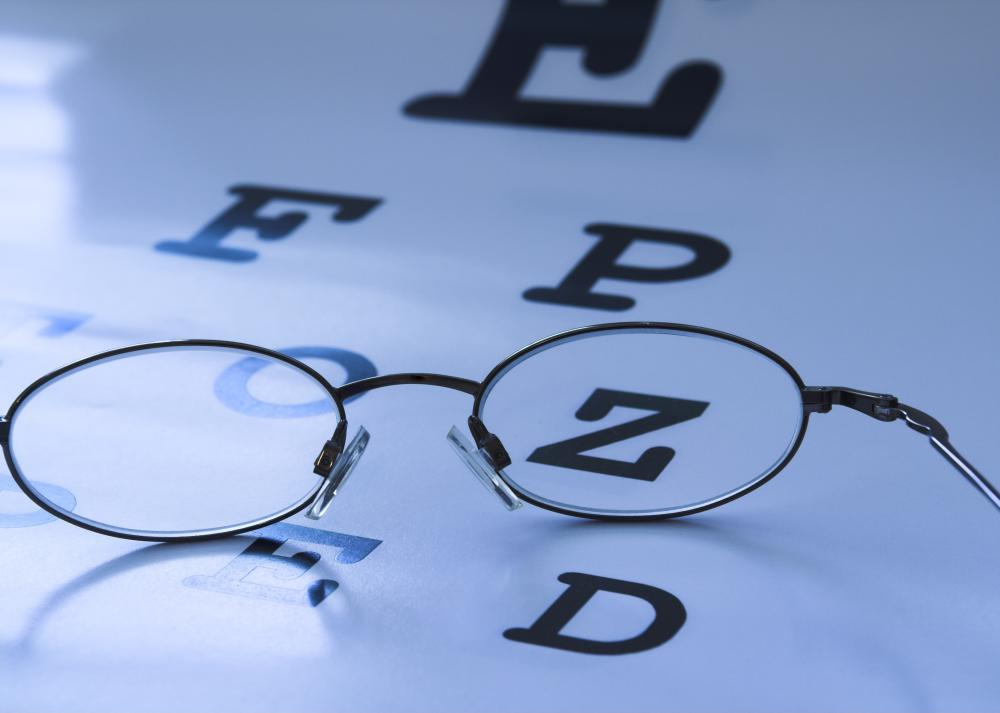 Regularly scheduled eye exams can help identify vision disorders at an early stage.