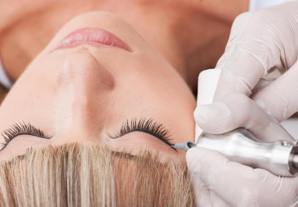 Permanent makeup, such as tattooed eyeliner, is increasing in popularity.