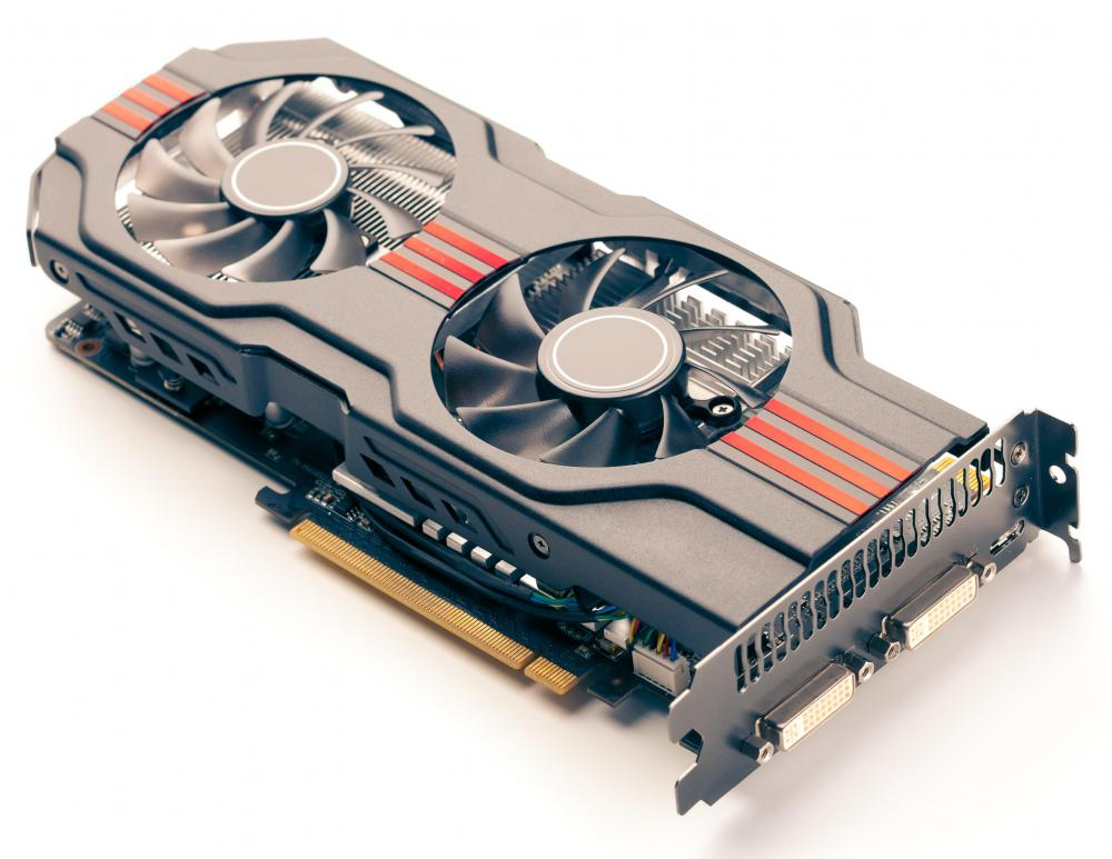 Gaming rigs require high-end graphics cards.