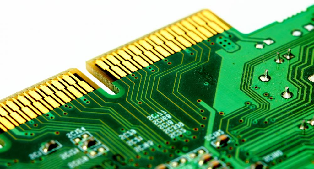 Palladium is used in electronics.