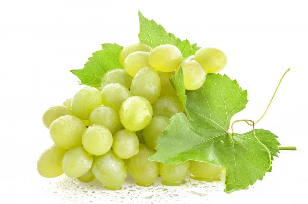 Lutein is an antioxidant found in grapes as well as other fruits and vegetables.