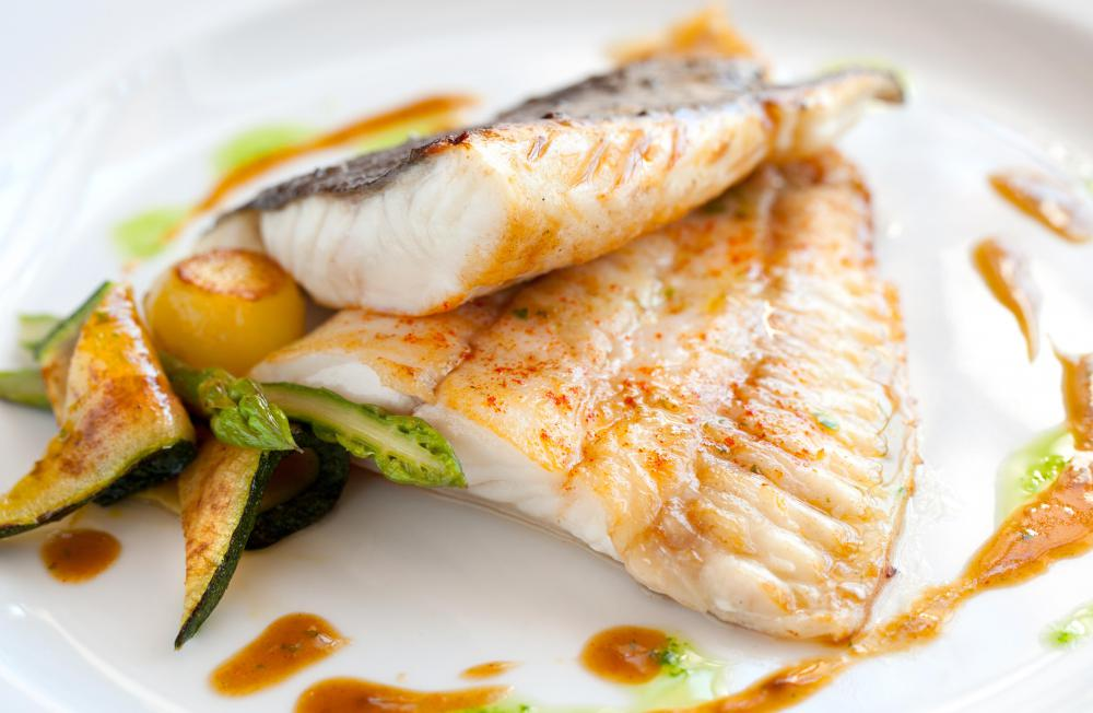 Fish is a natural source of lysine.