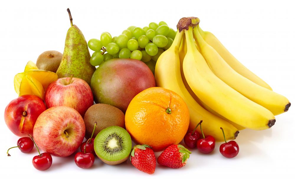 Fructose, when eaten from some types of fruits, typically digests more slowly than glucose.