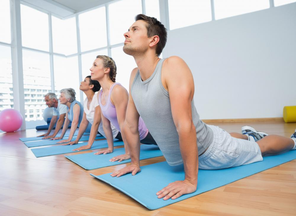 Chinese yoga incorporates many poses that stretch and strengthen muscles.