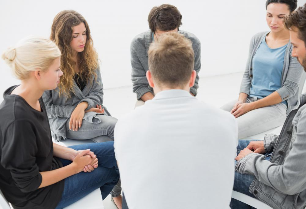Group therapy is one method that may be used during conversion therapy.