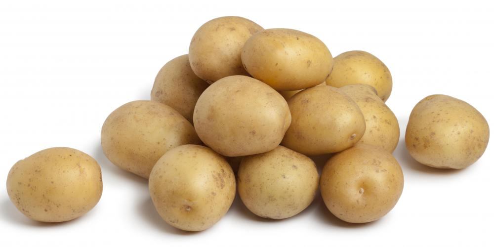 Potatoes are high in complex carbohydrates.