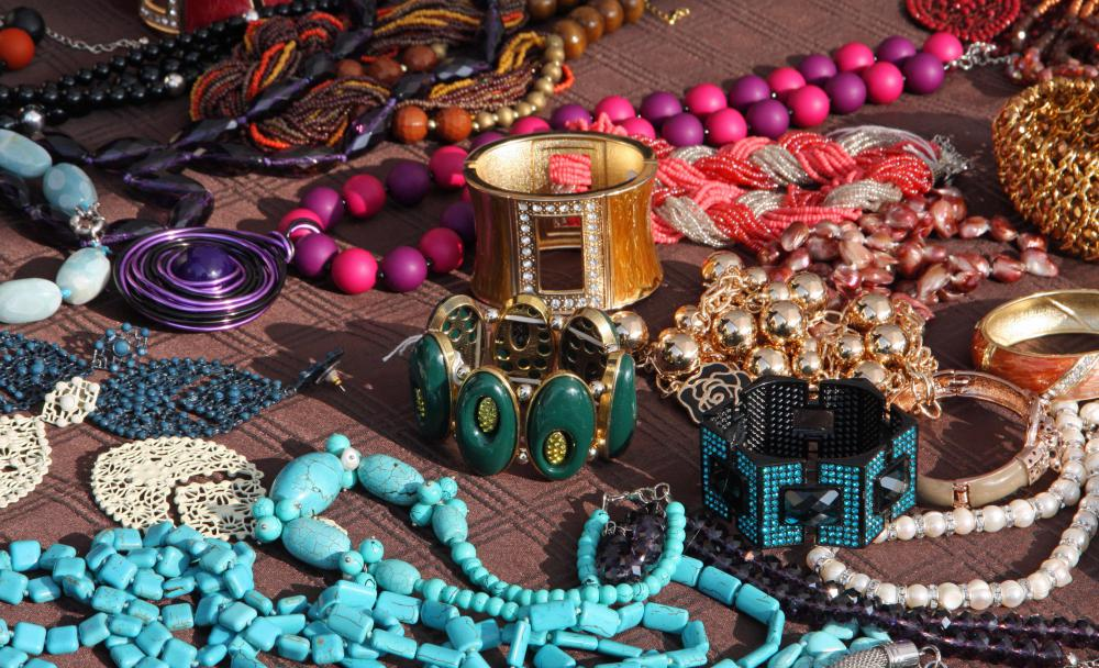 A pack rat may collect a lot of certain items, such as jewelry.