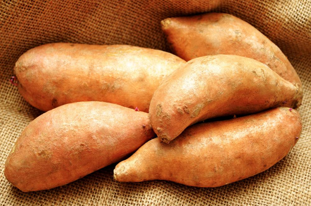 Yams are high in complex carbohydrates.
