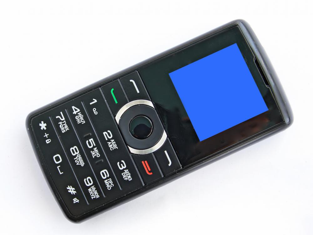 A GSM cell phone.