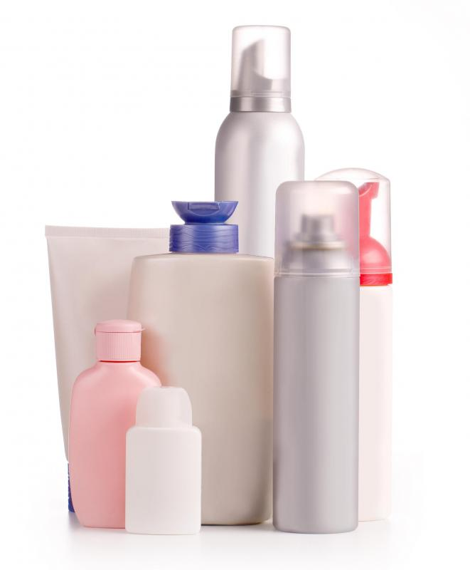Hair products containing dimethicone.