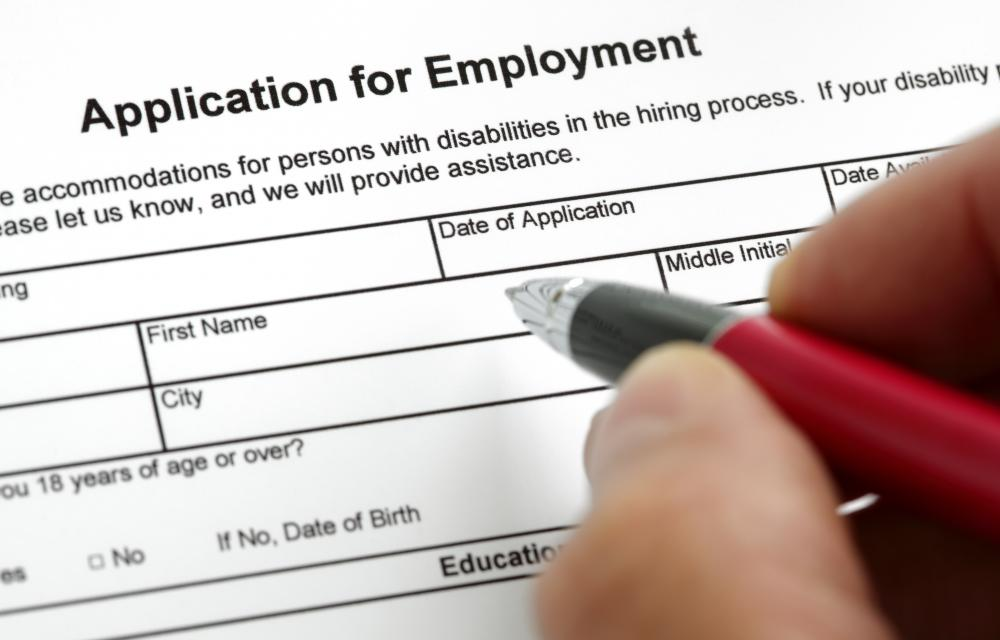 Temporary employment could show a willingness to work on job applications.