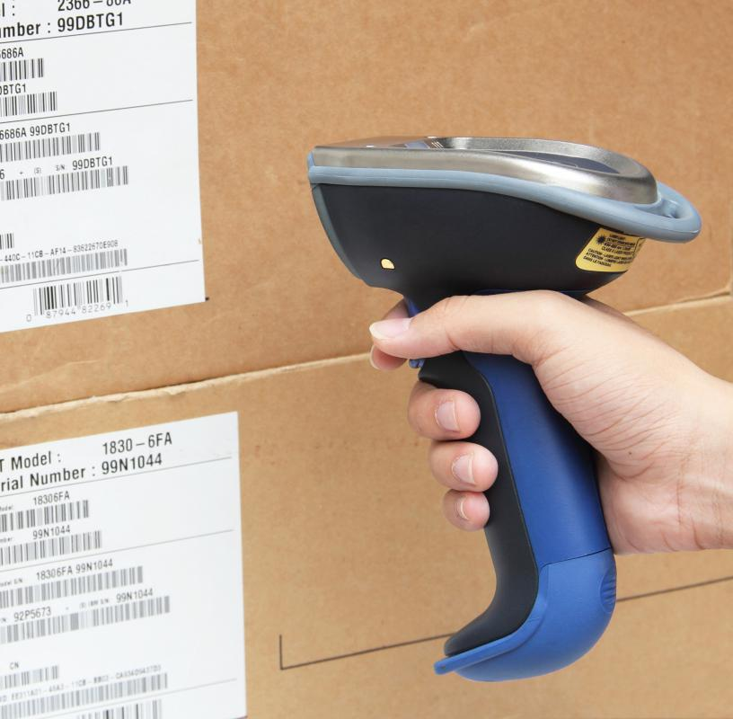 A laser barcode scanner is one type of optical reader.