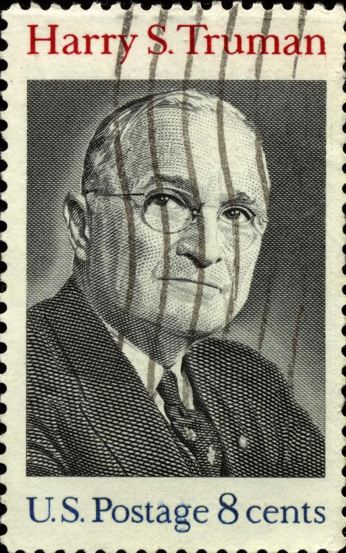 Former President Harry Truman, who was left-handed.