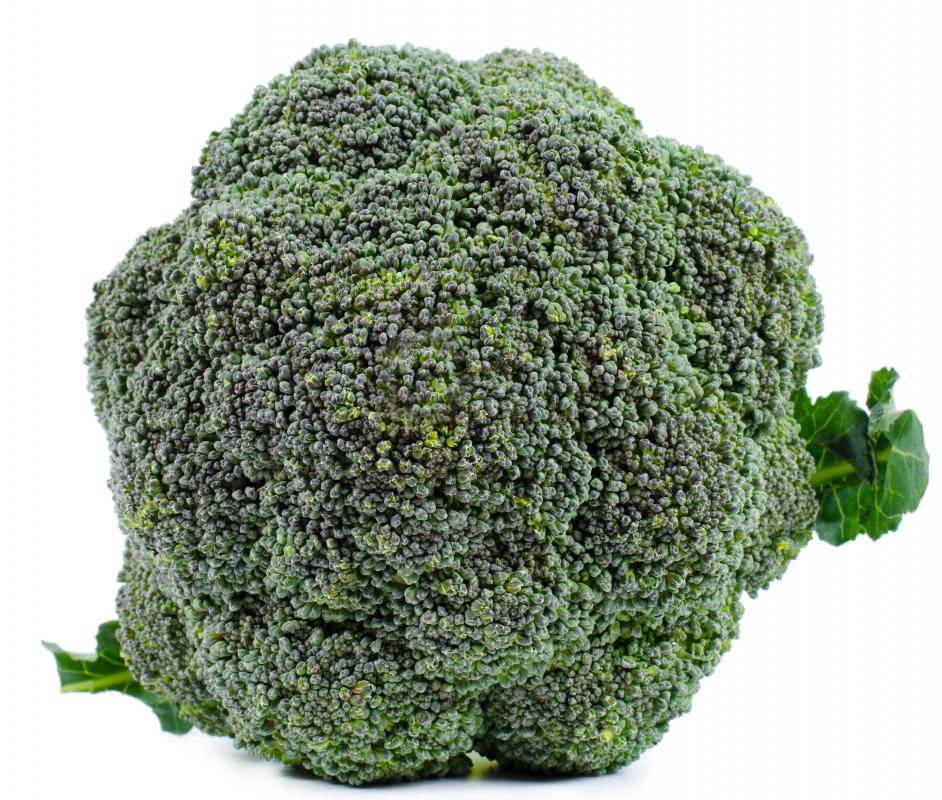 Broccoli has a stronger flavor than cauliflower and higher in fiber per serving.