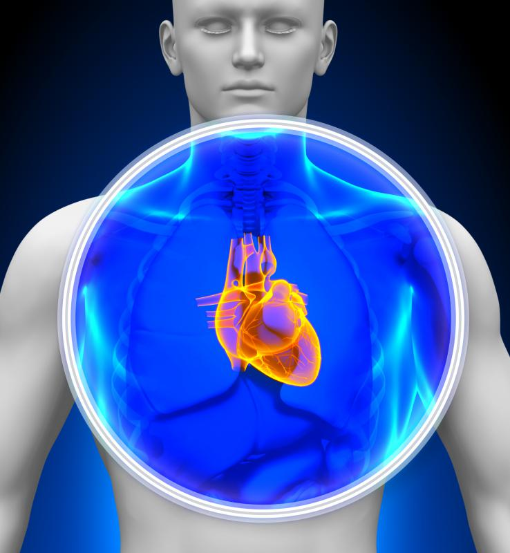 Problems located anywhere in the heart may create damage to the left ventricle.