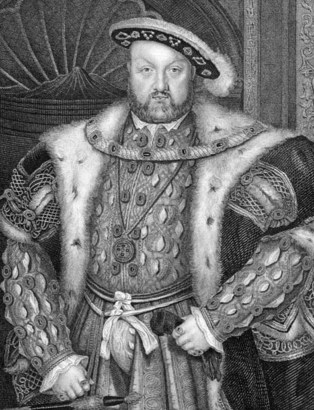 The creation of the Church of England by Henry VIII established new secular ideas as part of the English Renaissance.