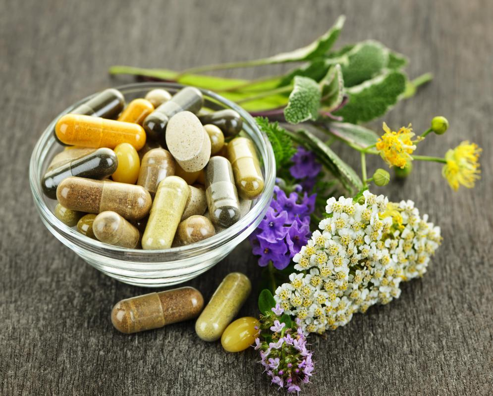 Some types of herbs and herb supplements can cause a drop in blood sugar.